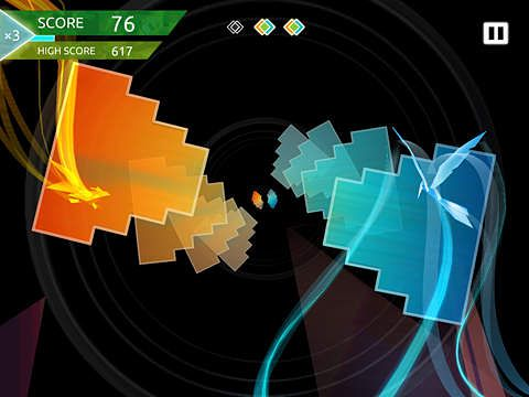 Capturas de pantalla del juego Entwined: Challenge para iPhone, iPad o iPod.