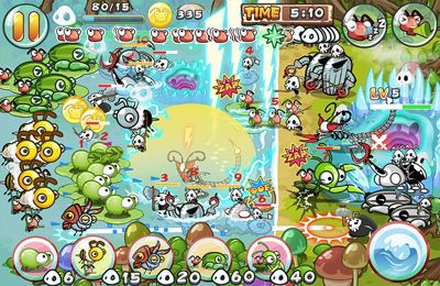 Capturas de pantalla del juego Epic Battle: Ants War 2 para iPhone, iPad o iPod.