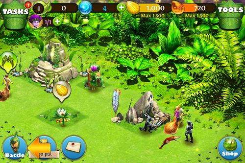 Download Epic battle for Moonhaven iPhone free game.
