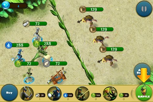 Descarga gratuita de Epic battle for Moonhaven para iPhone, iPad y iPod.