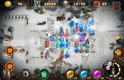 Capturas de pantalla del juego Epic Defense TD 2 – the Wind Spells para iPhone, iPad o iPod.
