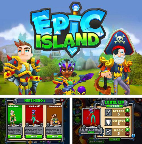 In addition to the game Speed race for iPhone, iPad or iPod, you can also download Epic island for free.