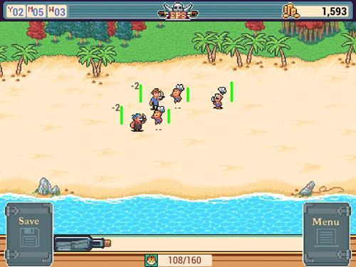Écrans du jeu Epic pirates story pour iPhone, iPad ou iPod.