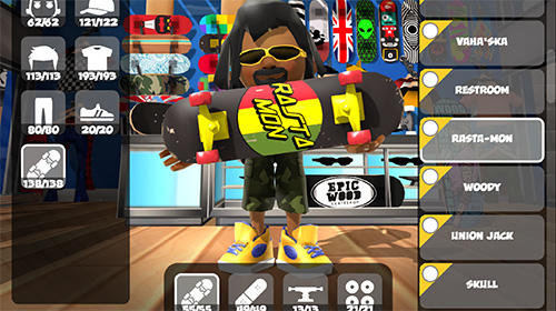 Download Epic skater 2 iPhone free game.