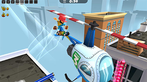 Free Epic skater 2 download for iPhone, iPad and iPod.