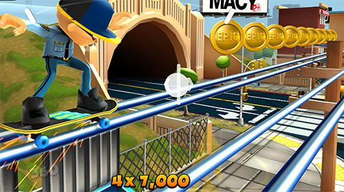 Screenshots of the Epic skater 2 game for iPhone, iPad or iPod.