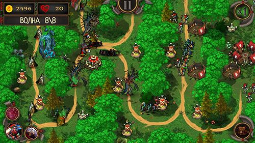 Download Epic tower defense: The orcs crusade iPhone free game.
