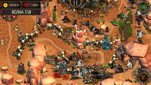 Free Epic tower defense: The orcs crusade download for iPhone, iPad and iPod.