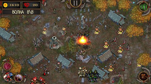Screenshots of the Epic tower defense: The orcs crusade game for iPhone, iPad or iPod.