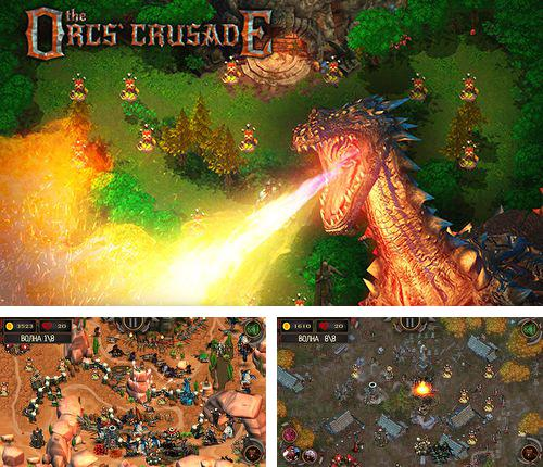 En plus du jeu Lep Sautant pour iPhone, iPad ou iPod, vous pouvez aussi télécharger gratuitement Défense épique de tour: Croisade d'orques, Epic tower defense: The orcs crusade.