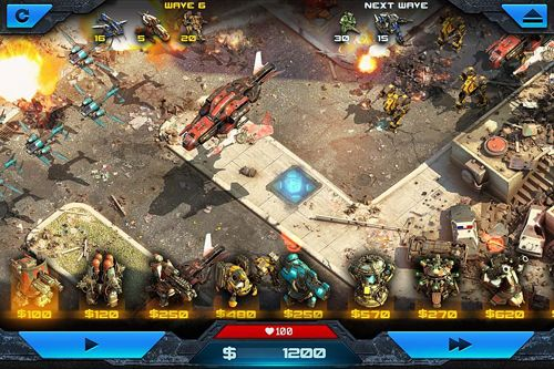 Screenshots of the Epic war 2 game for iPhone, iPad or iPod.