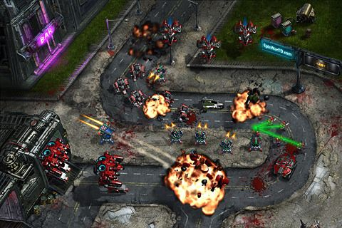 Descarga gratuita de Epic war TD para iPhone, iPad y iPod.