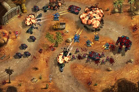 Capturas de pantalla del juego Epic war TD para iPhone, iPad o iPod.
