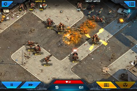 Descarga gratuita de Epic war: Tower defense 2 para iPhone, iPad y iPod.