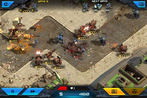 Capturas de pantalla del juego Epic war: Tower defense 2 para iPhone, iPad o iPod.