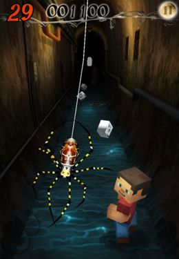 Screenshots of the Escape Bear – Slender Man game for iPhone, iPad or iPod.