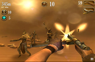 Capturas de pantalla del juego Escape from Doom para iPhone, iPad o iPod.