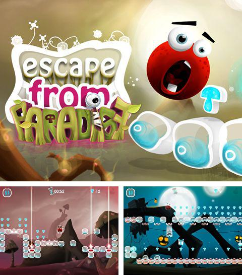 In addition to the game Snowboard racing: Ultimate for iPhone, iPad or iPod, you can also download Escape from paradise for free.