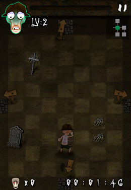 Baixe o jogo Escape from zombies para iPhone gratuitamente.