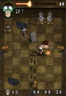 Kostenloser Download von Escape from zombies für iPhone, iPad und iPod.