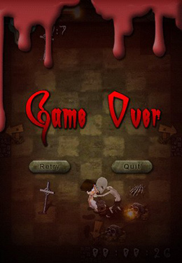 Screenshots vom Spiel Escape from zombies für iPhone, iPad oder iPod.