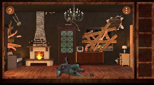 Screenshots of the Escape the floor: Terror 2 game for iPhone, iPad or iPod.