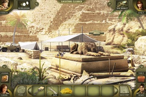 Écrans du jeu Escape the lost kingdom pour iPhone, iPad ou iPod.