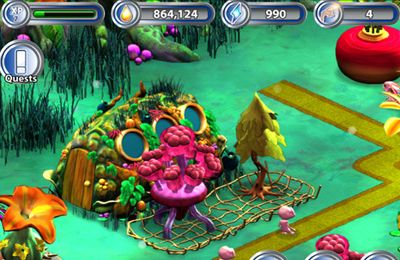 Screenshots of the E.T.: The Green Planet game for iPhone, iPad or iPod.