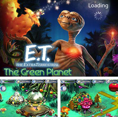 In addition to the game Air break for iPhone, iPad or iPod, you can also download E.T.: The Green Planet for free.
