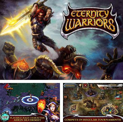 En plus du jeu Edo superstar pour iPhone, iPad ou iPod, vous pouvez aussi télécharger gratuitement Les Guerriers de l'Eternité, Eternity Warriors.