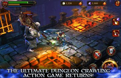 Screenshots vom Spiel Eternity Warriors 2 für iPhone, iPad oder iPod.