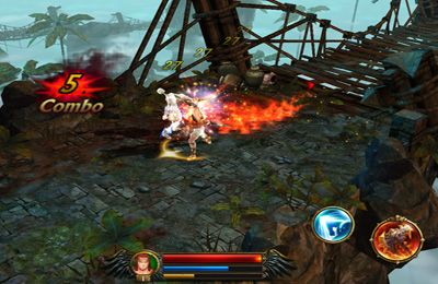 Écrans du jeu Eternity Warriors 3 pour iPhone, iPad ou iPod.