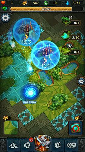 Capturas de pantalla del juego Etherlords para iPhone, iPad o iPod.