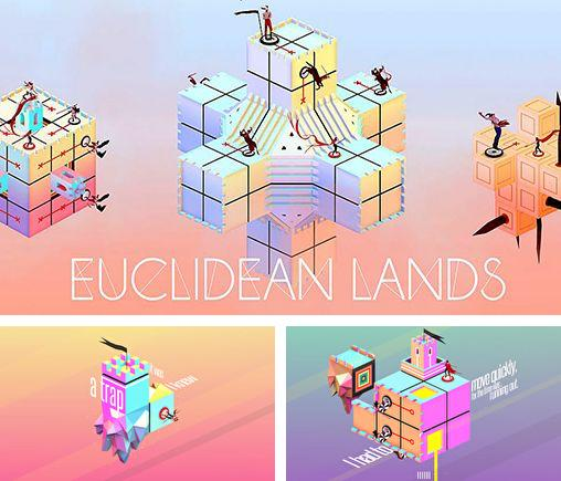 In addition to the game Rabbids. Appisodes: The interactive TV show for iPhone, iPad or iPod, you can also download Euclidean lands for free.