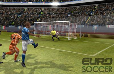 Download Euro Soccer iPhone free game.