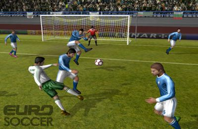 Screenshots of the Euro Soccer game for iPhone, iPad or iPod.