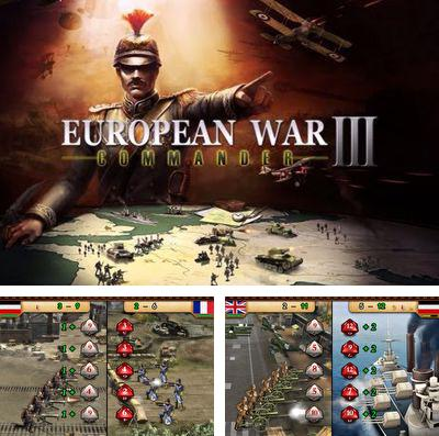 In addition to the game The sky tigers for iPhone, iPad or iPod, you can also download European War 3 for free.