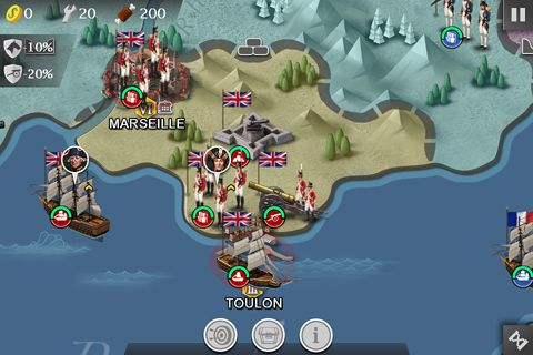Capturas de pantalla del juego European war 4: Napoleon para iPhone, iPad o iPod.