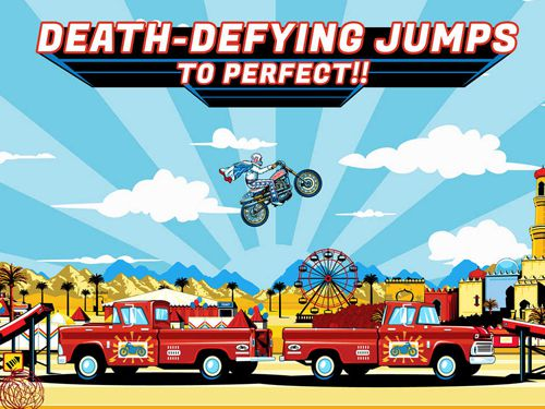 Download Evel Knievel iPhone free game.
