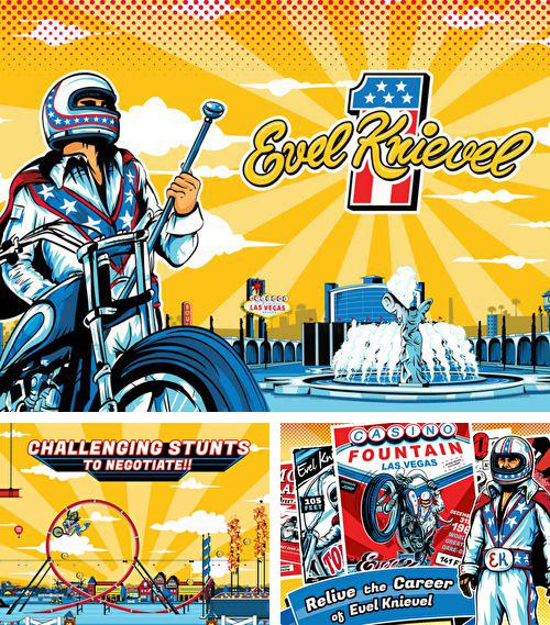 In addition to the game New York 3D Rollercoaster Rush for iPhone, iPad or iPod, you can also download Evel Knievel for free.