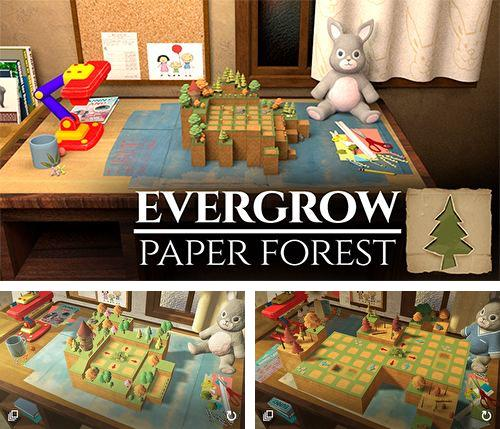 除了 iPhone、iPad 或 iPod 游戏,您还可以免费下载Evergrow: Paper forest, 。