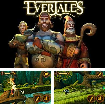 In addition to the game Edge of Twilight - Athyr Above for iPhone, iPad or iPod, you can also download Evertales for free.