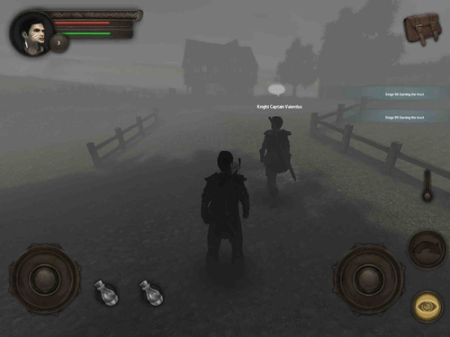 Screenshots vom Spiel Evhacon: War stories für iPhone, iPad oder iPod.