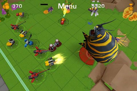 Screenshots of the Evil angry planet game for iPhone, iPad or iPod.