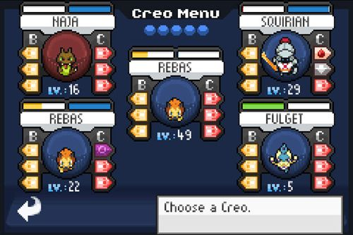 Download Evo Creo iPhone free game.