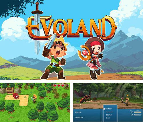 In addition to the game Touch zombie for iPhone, iPad or iPod, you can also download Evoland for free.