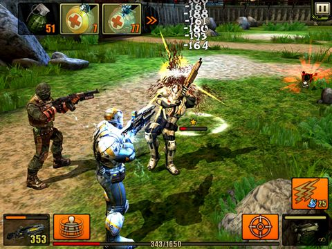 Screenshots vom Spiel Evolution: Battle for Utopia für iPhone, iPad oder iPod.