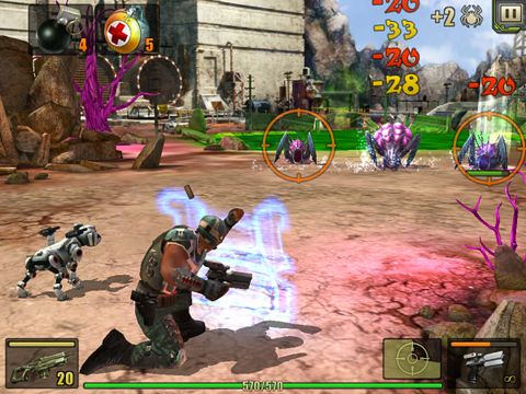 Screenshots of the Evolution: Battle for Utopia game for iPhone, iPad or iPod.