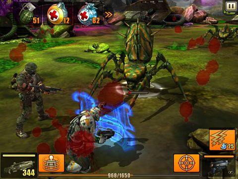 Capturas de pantalla del juego Evolution: Battle for Utopia para iPhone, iPad o iPod.