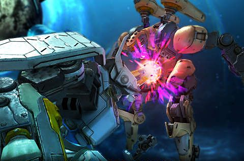 Screenshots do jogo Exo gears para iPhone, iPad ou iPod.